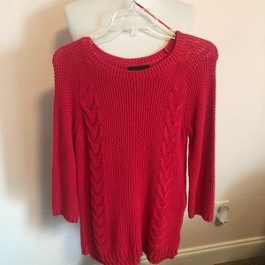 Cynthia Rowley Red Sweater